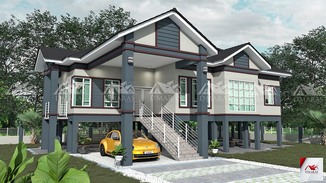 Pelan Rumah D Maras Development